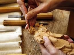 wood carvers bavaria southern germany oberammergau wood carving