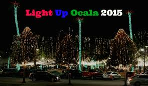 christmas lights ocala fl ocala post 32nd annual light up ocala 2015