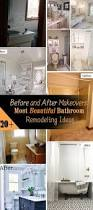 before and after makeovers 20 most beautiful bathroom remodeling