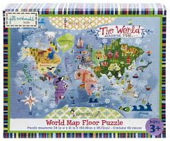 Honolulu Zip Code Map by Amazon Com Gibby U0026 Libby The World Around Me Map Puzzle By C R