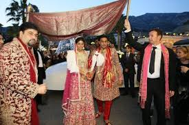 matin mariage fastueux mariage bollywoodien mi octobre à cannes cannes