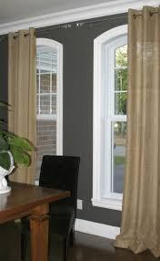 Burlap Curtains With Fringe Linen Curtains Burlap Pinch Pleat Panels For Home Decoration Ideas