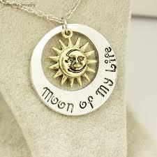 free shipping movie jewelry new fashion moon of my life sun star