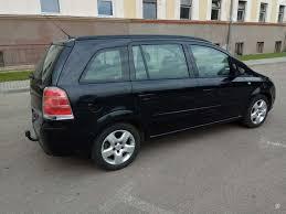 opel meriva 2006 black opel zafira 1 8 l mpv minivan 2006 01 m a5926491