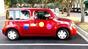 nissan cube accessories 2010 how to make a nissan cube even uglier make it a clown car youtube