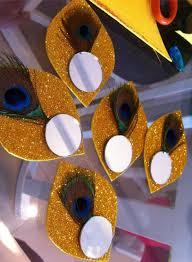 Krishnashtami Decoration Aarti Ki Thali For Janmashtami Decoration Ideas Crafts
