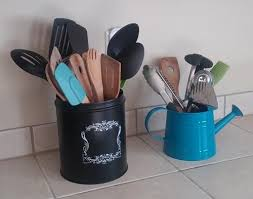 kitchen utensil canister utensil crock ideas for convenience saving drawer space
