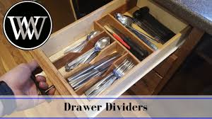 making a kitchen drawer organizer diy hand tool woodworking