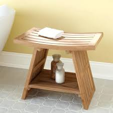 Wooden Shower Stool Bathroom Bench Seat Storage U2013 Ammatouch63 Com