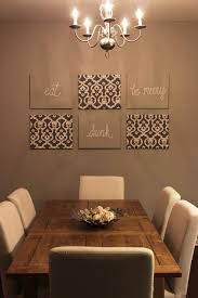 Dining Room Wall Decor Ideas How To Decorate A Dining Room Wall Photo Of Exemplary Ideas About