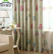 Owl Pictures For Kids Room by Myru New Kids Room Curtains For The Bedroom Living Room Design