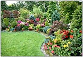 Simple Flower Garden Ideas Simple Flower Bed Landscaping Ideas Design Of Simple Front Yard