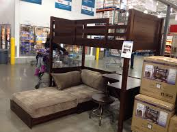 furniture bunk bed with desk under bunk beds with desk costco