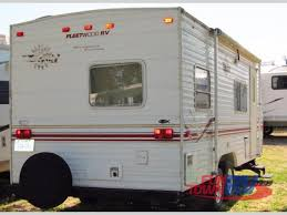 Fleetwood 5th Wheel Floor Plans by Used 2000 Fleetwood Rv Terry 22c Travel Trailer At Fun Town Rv