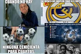 Memes De La Chions League - los memes previo al sorteo de cuartos de final de la chions