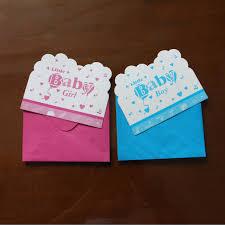 12pcs cards and 12pcs envelopes little baby design invitation card