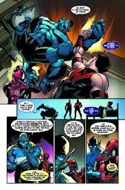 uncanny wonder man u0026 beast reunite in uncanny avengers 23
