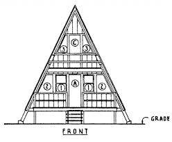 great plans to build an a frame tiny house for around 1200 for