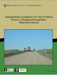 kentucky native plant society canada saskatchewan guidelines for use of native plants in