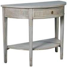 Painted Console Table Antique Swedish Gustavian Carved Painted Console With Marble Top