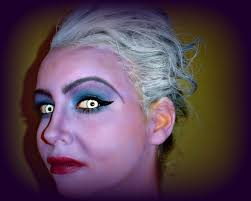 halloween series 2016 easy ursula the sea witch makeup tutorial