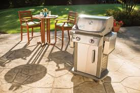 weber spirit s 210 gas grill stainless steel leisure living