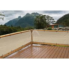 amazon com alion home elegant privacy screen mesh windscreen for