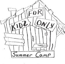 summer camp kiddie junction des plaines coloring page summer camp