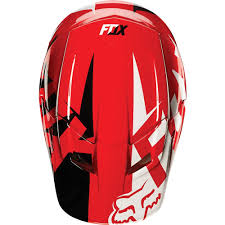motocross racing helmets fox racing 2015 v1 race helmet visor red available at motocross giant