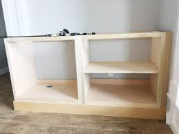 how to build bottom cabinets diy built in cabinets around the fireplace part 1