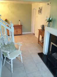 crushed aloe by dulux walls devon bone floor tiles by topps tiles