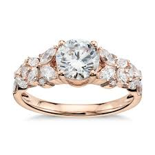 gold diamond engagement rings 43 gold engagement rings for the to be brides