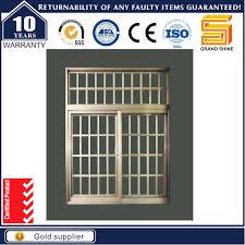 custom made aluminium windows china latest design double glazing aluminum sliding window grill
