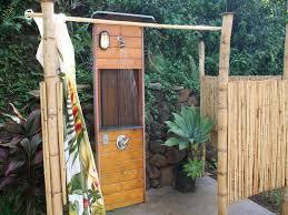 Outdoor Shower Mirror - outdoor shower bathroom with enclosures unpainted bamboo outdoor