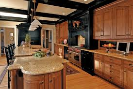 kitchen color ideas with oak cabinets and black appliances 10 kitchens with black appliances in trending design ideas