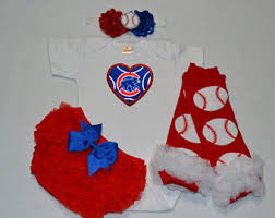 cubs newborn fan club chicago cubs baby etsy