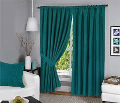 menaal pair of 100 cotton curtains fully lined solar thermal