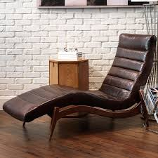 furniture indoor chaise lounge with traditional leather chaise