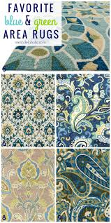 Blue Area Rugs Terrific Remodelaholic 20 Green And Blue Area Rugs You Ll On