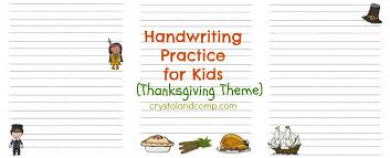 handwriting practice for free printable