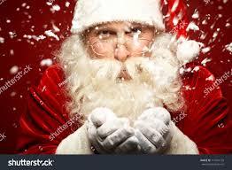 photo santa claus eyeglasses blowing snow stock photo 117241135