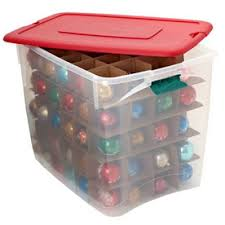 interesting rubbermaid ornament storage inspiring wing