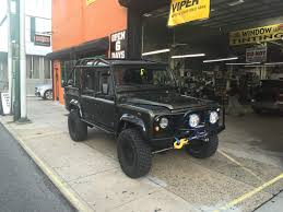 custom land rover defender 1995 modified land rover defender custom system in philadelphia