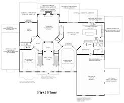 Georgian Floor Plan by Marvin Nc New Homes For Sale Preserve At Marvin