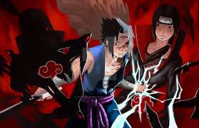 sasuke vs sasuke vs itachi by he11bringer on deviantart