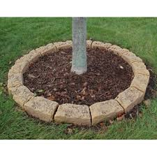 fast easy tree edging rings save on faux tree borders here