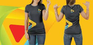 female psd t shirt mocku up template free designs canyon