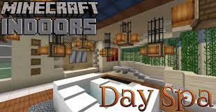 day spa floor plans day spa bath house minecraft indoors interior design youtube