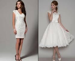 Short White Wedding Dresses Top 2018 Short White Wedding Dress Styles Goostyles Com
