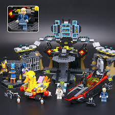 lepin 07052 new 1047pcs genuine movie series 70909 batcave break